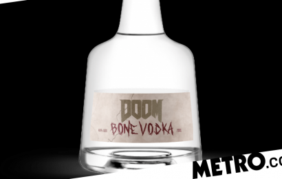 Hardcore Doom fans can now taste Hell in Doom Bone Vodka