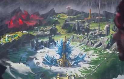Apex Legends is getting a new map called World's Edge