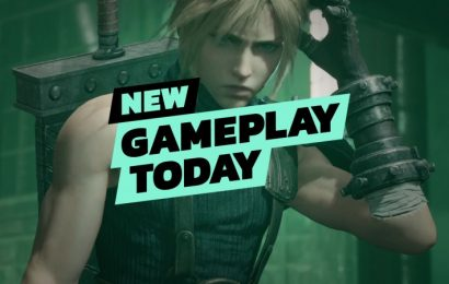 New Gameplay Today – Final Fantasy VII Remake