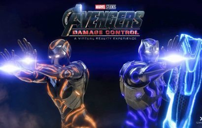 How the Avengers: Damage Control VR experience works