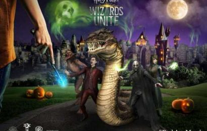 October is Dark Arts Month on Harry Potter: Wizards Unite