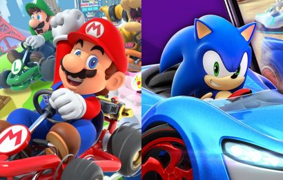 Mario Kart Tour vs. Sonic Racing: Which game is worth your smart phone battery?