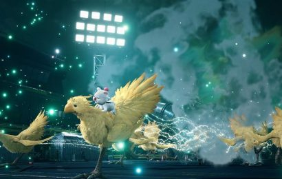 Final Fantasy 7 Remake new screenshots show Chocobos & Moogle summon and more