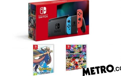 Top Nintendo Switch Black Friday deal includes Pokémon & Mario Kart for £60 off