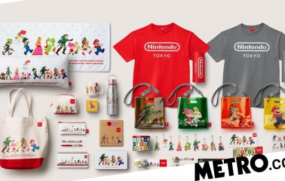 Get a load of all the exclusive merch in the new Nintendo Tokyo Store