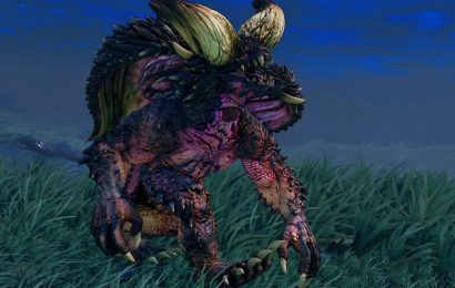 What in the world is going on with this Monster Hunter costume for Blanka?