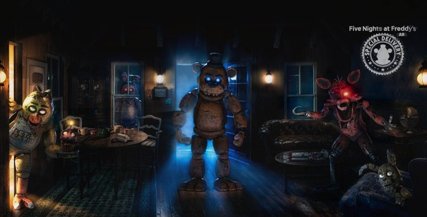 Hold on to Your Hats Five Night's at Freddy's AR: Special Delivery Appears Today