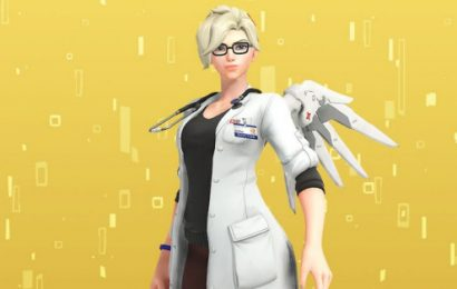 New Overwatch short story previews mostly normal-looking Doctor Mercy skin