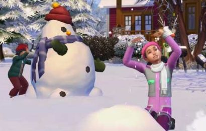 The Sims 4's fruitcake bug is fixed, just in time for the holidays
