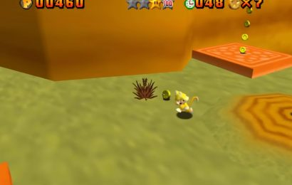 Super Mario 64 Land brings Cat Mario to the 64-bit classic