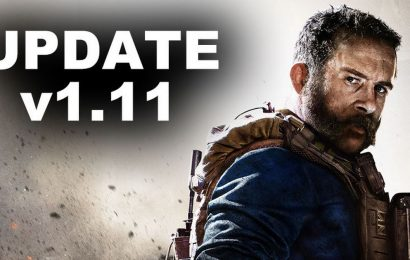 Call of Duty Modern Warfare Update 1.11 patch notes news for PS4 and Xbox