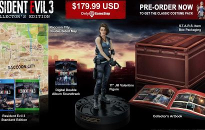 Resident Evil 3 Remake's Collector's Edition is bound to be popular