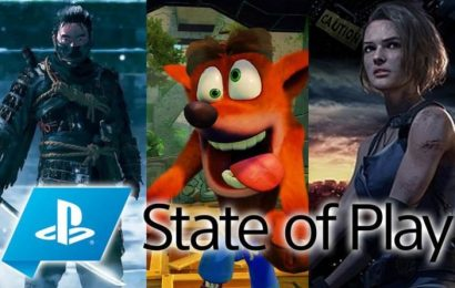 State of Play PS4: Ghost of Tsushima, Resident Evil 3 Remake, Crash Bandicoot