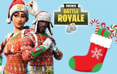 Fortnite search holiday stockings in the Winterfest cabin: Winterfest challenge guide
