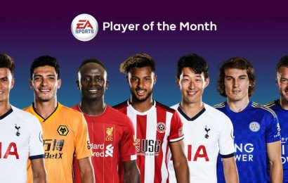 FIFA 20 Premier League Player of the Month November nominees announced