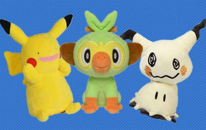 Amazon Has An Official Pokemon Plushie Store To Make It Easier To Buy 'Em All