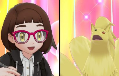 Pokémon Sword and Shield is a dress-up game