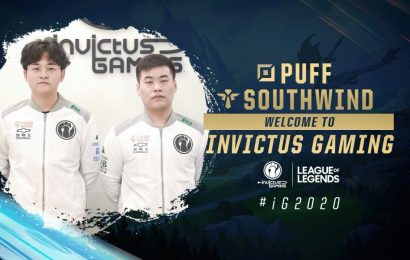 Invictus Gaming sign Vici Gaming's bot lane duo of Puff and Southwind