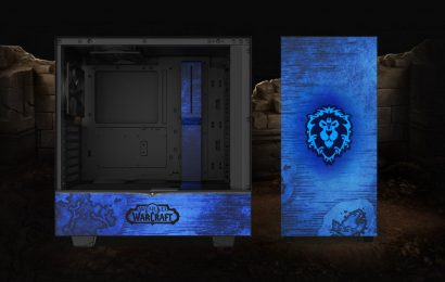 Show Your Horde Or Alliance Loyalty With These Limited Edition WoW PC Cases