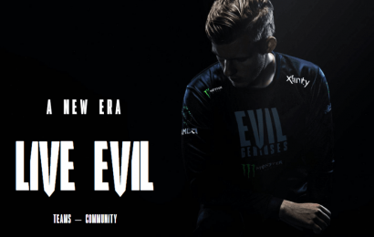 Evil Geniuses rebrands with new logo and jersey