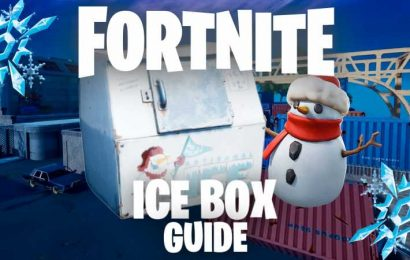 Fortnite Winterfest: Where To Find The Ice Boxes