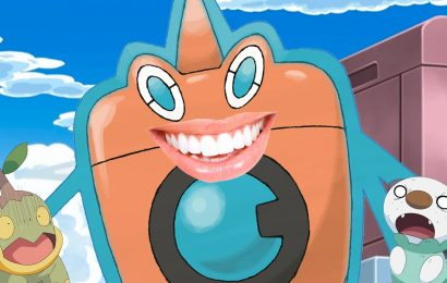 Pokémon Detail: Rotom Has Teeth (And We Can't Unsee It)