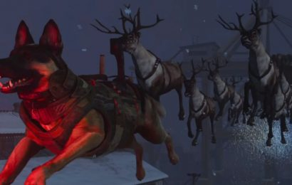 Call of Duty Dog leads Santa's sleigh in this wacky Modern Warfare Easter egg