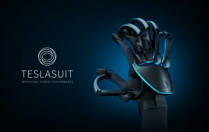 Teslasuit Unveils new VR Glove Ahead of CES 2020