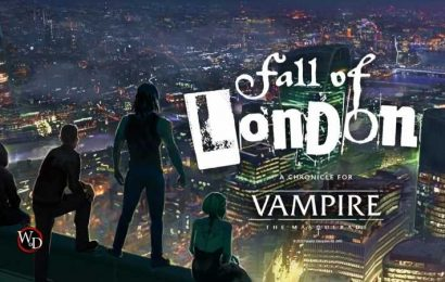 Vampire: The Masquerade's Fall Of London Hardcover Releases In March