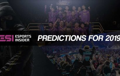 Five predictions for the esports industry in 2019