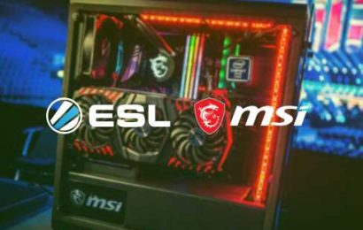 ESL announce extended partnership with MSI