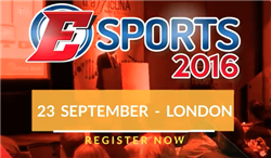 Sweetpatch TV will speak at the Esports 2016 Conference in London