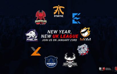 LVP UK returns for 2019, adds Fnatic & exceL academy rosters