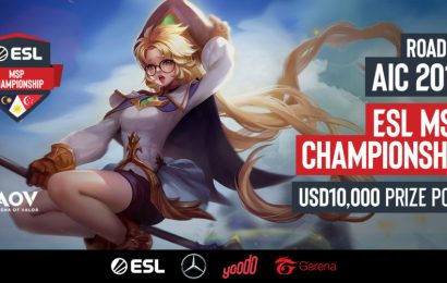ESL introduces the MSP Championship for Arena of Valor