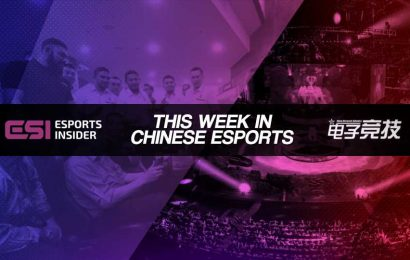 This week in Chinese esports: eStar, Malaysia