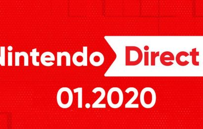 Nintendo Direct could be due to reveal at least 4 games for 2020 in January