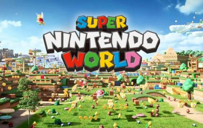 Super Nintendo World theme park is a 'life-size, living video game'