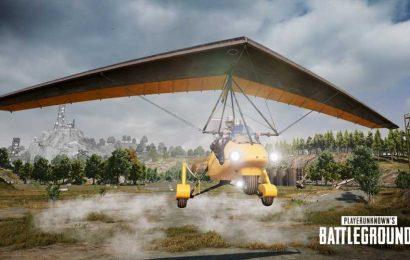PUBG's first flying vehicle, Motor Glider, to be introduced tonight on PC