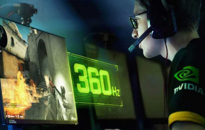 Nvidia and Asus Are Making a 360 HZ Monitor