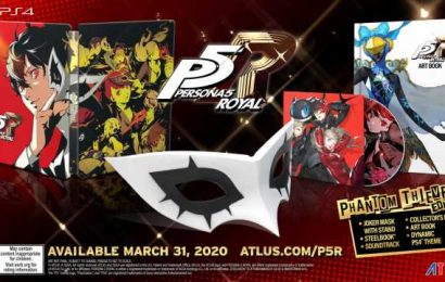 Persona 5 Royal Pre-Order Guide: Special Editions, Steelbook, And More