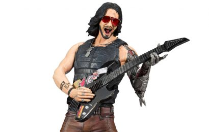 Cyberpunk 2077 Keanu Reeves Action Figures Are Now A Thing