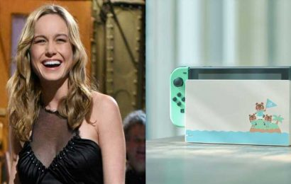 Brie Larson, Like All Of Us, Is Excited For The Animal Crossing Switch