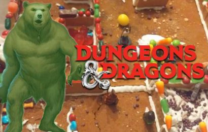 This D&D Gingerbread Dungeon Is Edible And Guarded By Gummy Bears