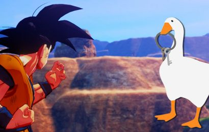 DBZ Kakarot Was Just Released And There's Already A Goose Mod