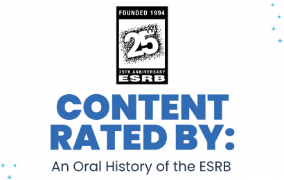Content Rated By: An Oral History of the ESRB excerpt — Pat Vance: Doing something good…