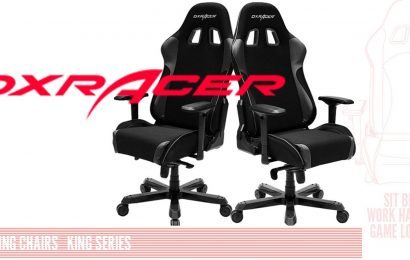 DXRacer King Series Gaming Chair Review: King Me