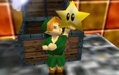 Modder Adds Level From Super Mario 64 Into Ocarina Of Time