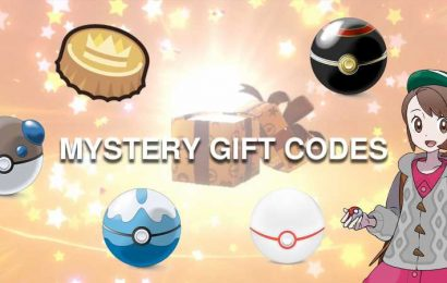 Pokémon Sword & Shield Still Have A Bunch Of Active Mystery Gift Codes