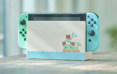 Animal Crossing: New Horizons-themed Nintendo Switch hardware coming in March