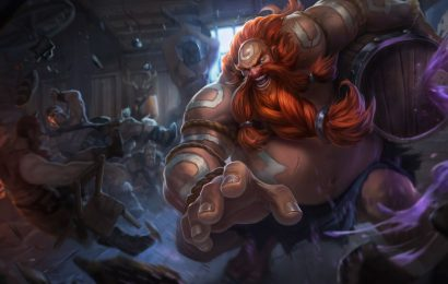Gragas player steals Baron from the grave with lucky barrel in League of Legends